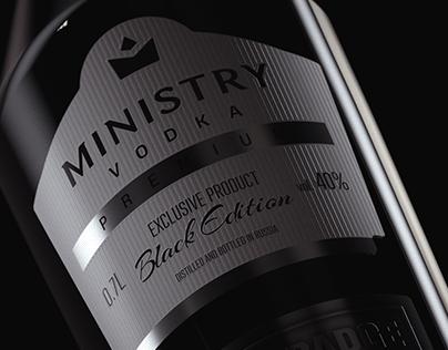 Ministry Vodka CGI