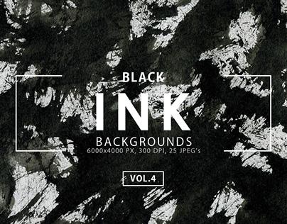 Black Ink Backgrounds Vol. 4