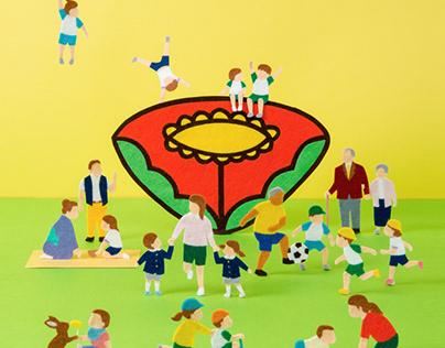 Book cover for Tampopo Nursery School