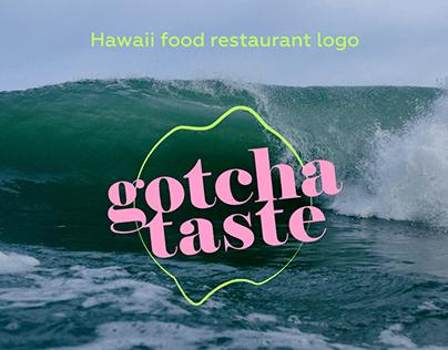 Hawaii food restaurant logo