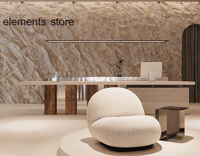 Furniture and home decor store design