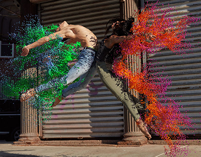 DANCING WITH PARTICULES