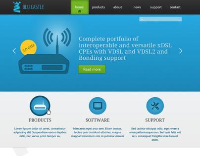 BluCastle Website Design