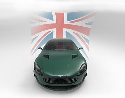 Aston Martin Rndering