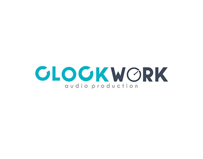 Clockwork Typographic Logo