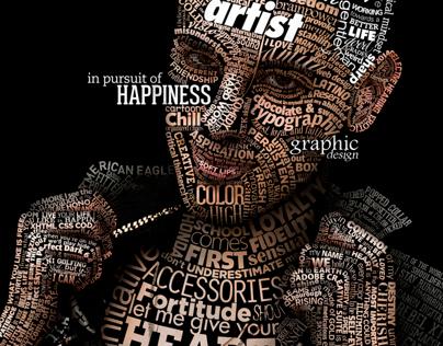 Typographical Portrait