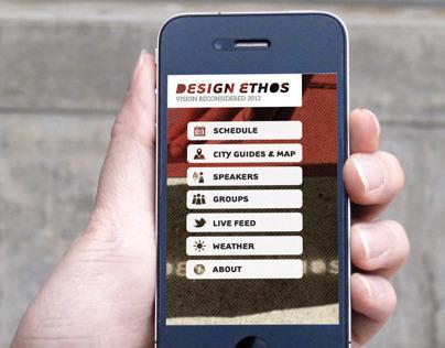 2012 Design Ethos Mobile App
