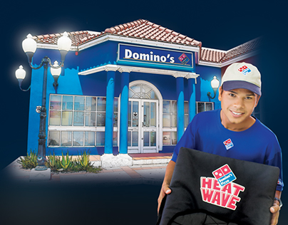 Dominos Campaign concept, photography and design