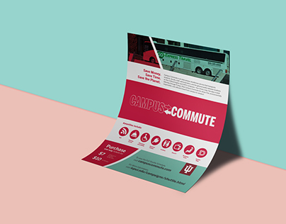 Campus Commute Flyer & Brochure