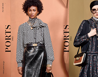 Ports 1961 Fabric Prints PRE FALL 2020