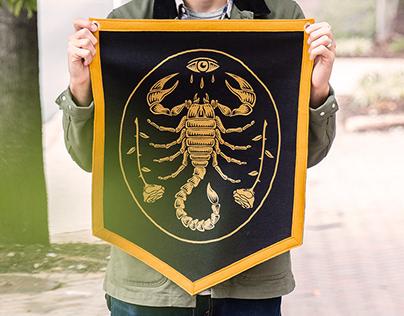 Scorpion Pennant