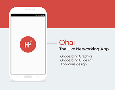 Ohai - Onboarding and UI design