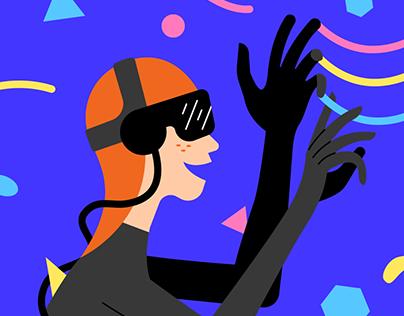 Job Sparks Mobile App Illustrations