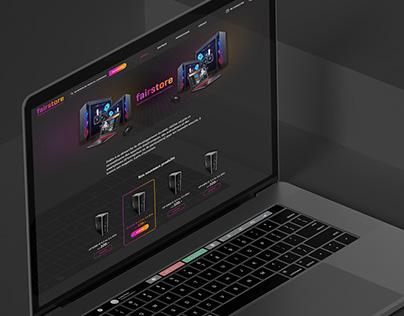 Webdesign Fairstore
