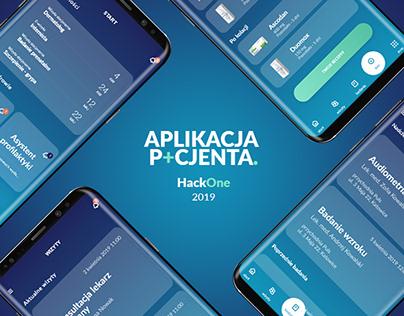 Healthcare app - Hackathon concept