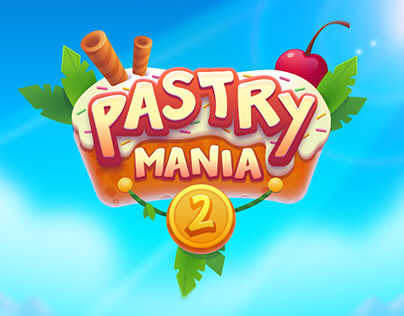 Pastry mania 2 Game Art and animation