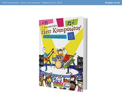 Colori per graphic novel Herr Kompositor (2013)