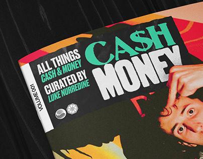 Cash Money Magazine Design