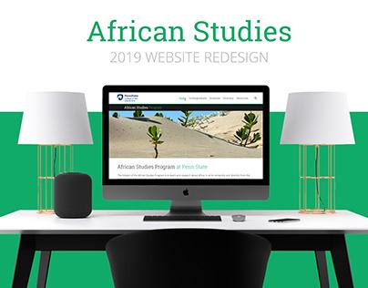 African Studies Website Redesign