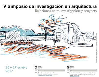 V Symposium on Research in Arch. Medellín, 2017.