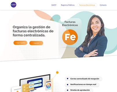 Diseño Guest pagina Web