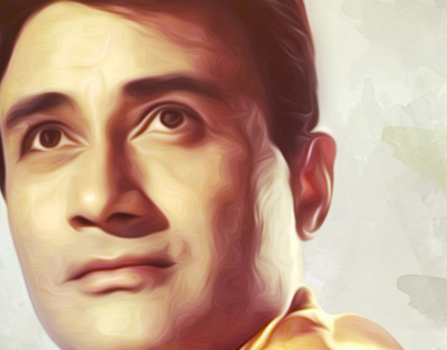 Dev Anand actor, writer, director and producer.