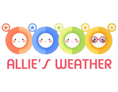 Allie's weather