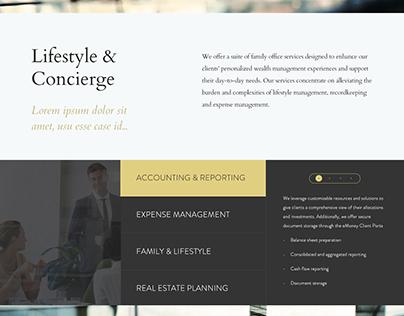 Legacy Wealth Advisors Website