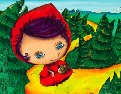 LITTLE RED RIDING HOOD FIGHTS BACK | Children's Book