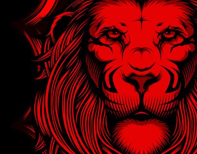 lebron james logo lion head
