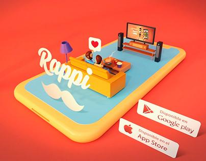 RAPPI 3D / Promo Animation