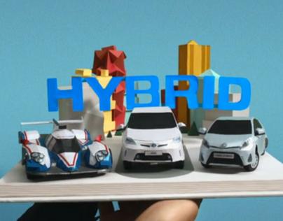 Toyota Visuals - Stories of Better - Paris Motor Show