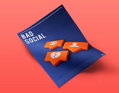 BAD SOCIAL PAPER CRAFT