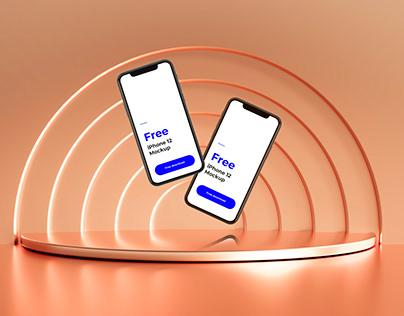 iPhone 12 Mockups - Free