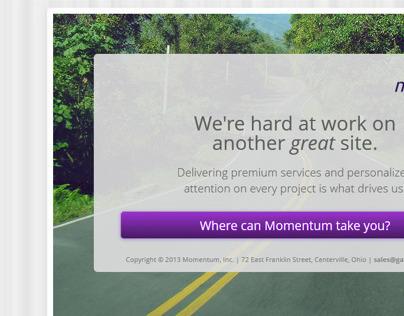 Web / Mobile - responsive single-page