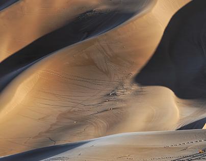Spirit of Desert | Yellow and Blue
