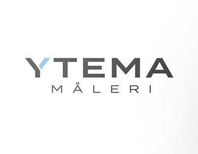 Ytema logotype and business cards