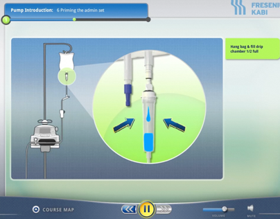 Infusion Pump Medical Training Software