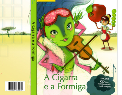 Picturebook _ Aesop's Ant and Cicada