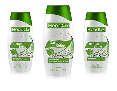 Logo design for a shampoo brand- HeadOx
