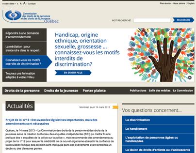 Commission des droits de la personne