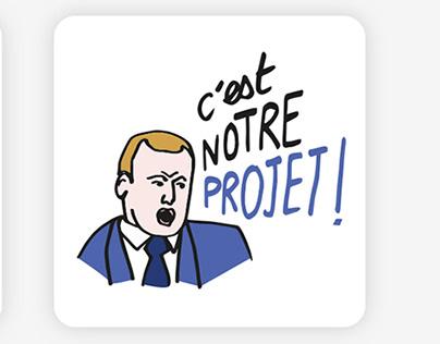 Stickers politiques