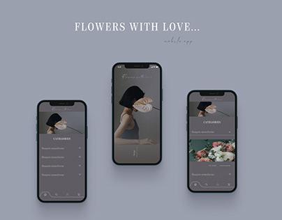 Flowers shop - mobile app