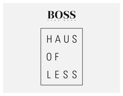 BOSS Haus of Less: Womenswear Campaign Pitch
