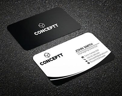 Business card and letter head design