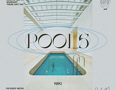 """POOLS by NIKI"" SINGLE ART CONCEPT"