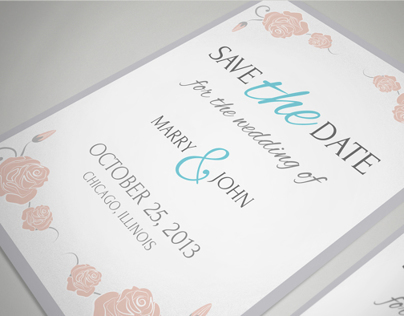 Flowers Wedding Set | graphicriver.net