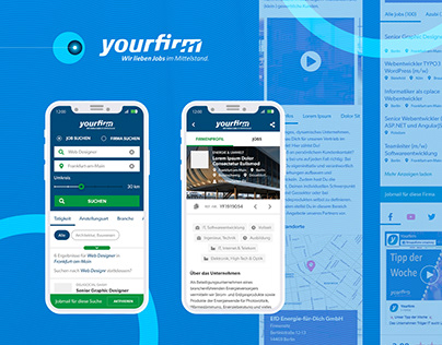 Yourfirm.de Job Search Platform