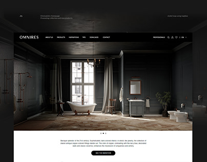 Omnires - website, mobile