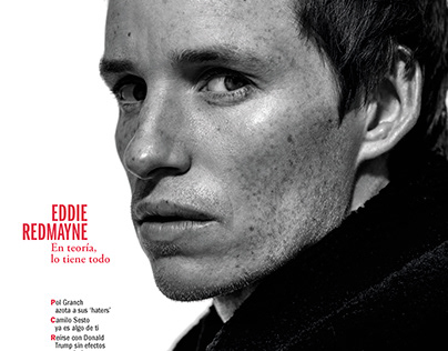 Eddie Redmayne - Esquire Spain November 2020